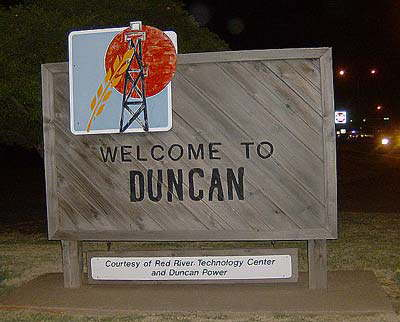 Welcome to Duncan